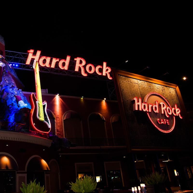 Hard Rock Cafe Event Orlando Florida